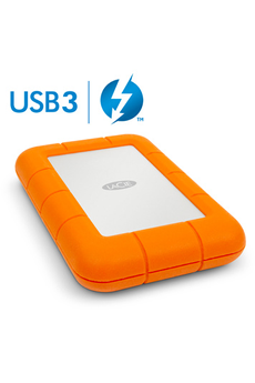 Disque dur externe RUGGED THUNDERBOLT 1 TO Lacie