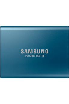 Disque dur SSD 500 Go - USB Type C 3.1 - USB 3.1 Technologie V-NAND et technologie Turbowrite Jusqu'à 540 Mo/s Compatible USB 3.1 Gen.2 - Compatible Windows, iOS, Android Support USB-C / A pour smartphones, tablettes, PC, . Résistance - système de sécurit