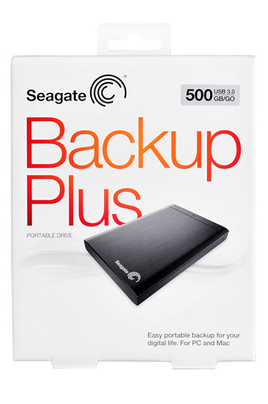 Seagate BACKUP PLUS 500 GO USB 3.0 / USB 2.0 NOIR