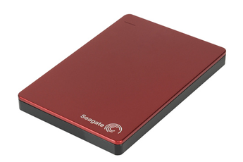 Disque dur externe Backup Plus Slim 2,5'' 1To USB 3.0 rouge Seagate