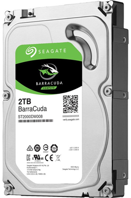 DISQUE DUR INTERNE SEAGATE BARRACUDA ST2000 DMA08 1T