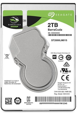 DISQUE DUR INTERNE SEAGATE BARRACUDA ST1000 LMA15 2T