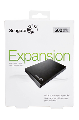 Seagate EXPANSION 500 Go USB 3.0 / 2.0 NEW