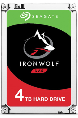 DISQUE DUR INTERNE SEAGATE IRONWOLF  ST4000 VNA08 4T