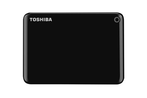 disque dur externe toshiba canvio connect ii 1tb black 4089421 darty. Black Bedroom Furniture Sets. Home Design Ideas