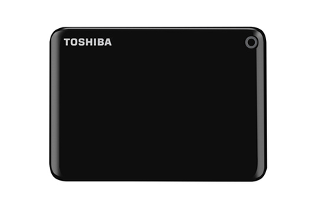 disque dur externe toshiba canvio connect ii 2tb noir darty. Black Bedroom Furniture Sets. Home Design Ideas