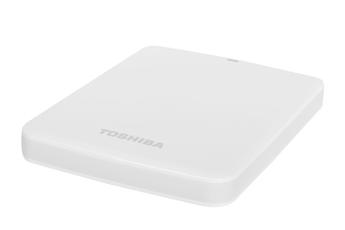 "Disque dur externe STOR.E Canvio 2,5"" 1To Blanc USB 3.0 Toshiba"