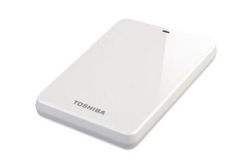 Toshiba STOR.E CANVIO 500 Go USB 3.0 / 2.0 BLANC