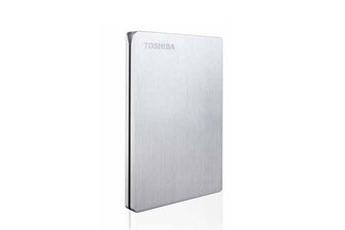 """Disque dur externe Stor.E Slim 2,5"""" 1To Silver pour Mac USB 3.0 Toshiba"""