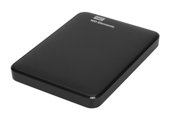 "Disque dur externe New Elements 2,5"" 500 Go USB 3.0 Noir Western Digital"