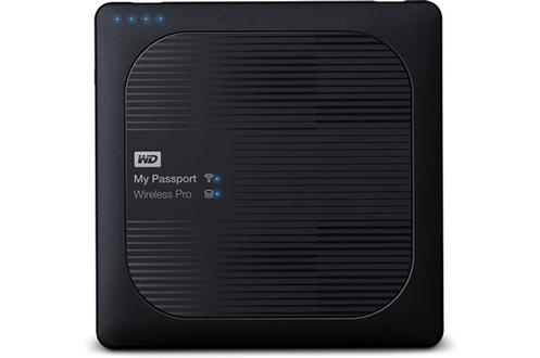 Disque dur wifi1 To - option streaming Lecteur carte SD Recharge vos appareils Format 2,5 pouces - 450 g