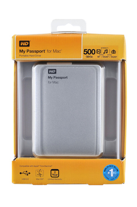 Western Digital My Passport For Mac 500 Go USB 2.0