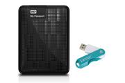 "Western Digital My Passport Ultra 2,5"" 1To USB 3.0 Noir + Lexar Media NEW TWIST TURN 16Go USB 2.0"