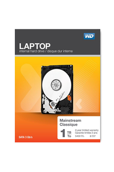 Disque dur interne Laptop mainstream 1TO Western Digital