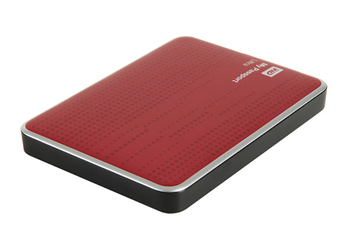 Disque dur externe My Passport ULTRA 2,5'' 1 To USB 3.0 rouge Western Digital