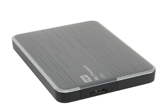 Disque dur externe MY PASSPORT ULTRA 2,5'' 500 Go USB 3.0 argent Western Digital