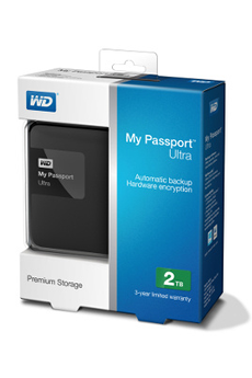 Disque dur externe MY PASSPORT ULTRA 2 TO Wd