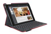 Clavier pour tablette Logitech Etui clavier rouge Type-S pour Samsung Galaxy Tab S 10.5