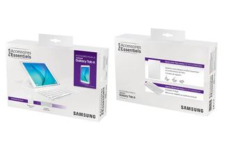 """Autres accessoires pour tablette Etui + clavier Bluetooth blanc pour Samsung Galaxy Tab A 9,7"""" Samsung"""