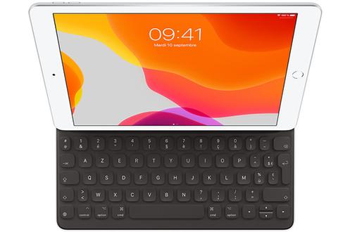 Smart Keyboard Noir Apple pour iPad (7e génération) et iPad Air (3e générat