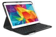 """Logitech Etui + clavier noir pour Samsung Galaxy Tab S 10.5"""""""