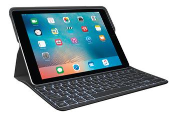 """Clavier pour tablette Etui-clavier Create noir pour iPad Pro 9,7"""" Logitech"""