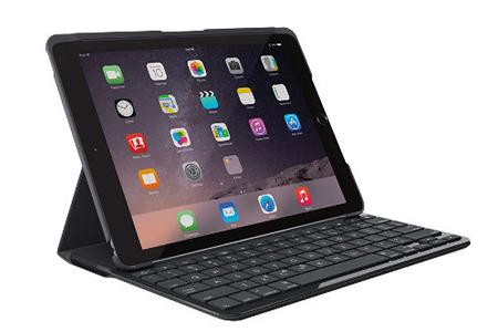 clavier pour tablette logitech etui clavier slim folio noir pour ipad 9 7 version 2017 darty. Black Bedroom Furniture Sets. Home Design Ideas