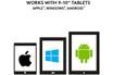 Logitech Étui avec clavier intégré Logitech Universel Folio Gris pour Tablettes 9-10 photo 4