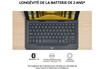 Logitech Étui avec clavier intégré Logitech Universel Folio Gris pour Tablettes 9-10 photo 8