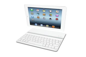 Clavier Ultrathin Keyboard Cover iPad Blanc Logitech