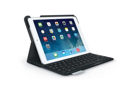 nouvelle arrivee 917d4 a880c Ultrathin keyboard folio noir pour iPad Air
