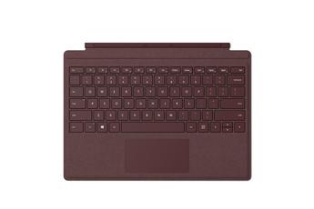 Clavier pour tablette Type Cover Signature Bordeaux pour Surface Pro, Pro 3 et Pro 4 Microsoft