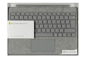 Clavier pour tablette Clavier Signature Type Cover pour Surface Pro 3 et 4 Microsoft