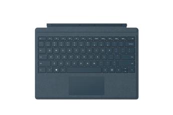 Clavier pour tablette Clavier Type Cover Signature Bleu Cobalt pour Surface Pro, Pro 3 et Pro 4 Microsoft