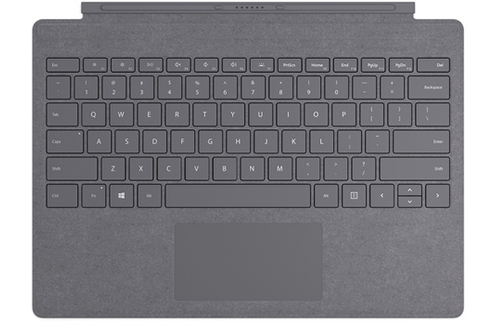 CLAVIER SIGNATURE TYPE COVER POUR SURFACE PRO 7  - ANTHRACITE