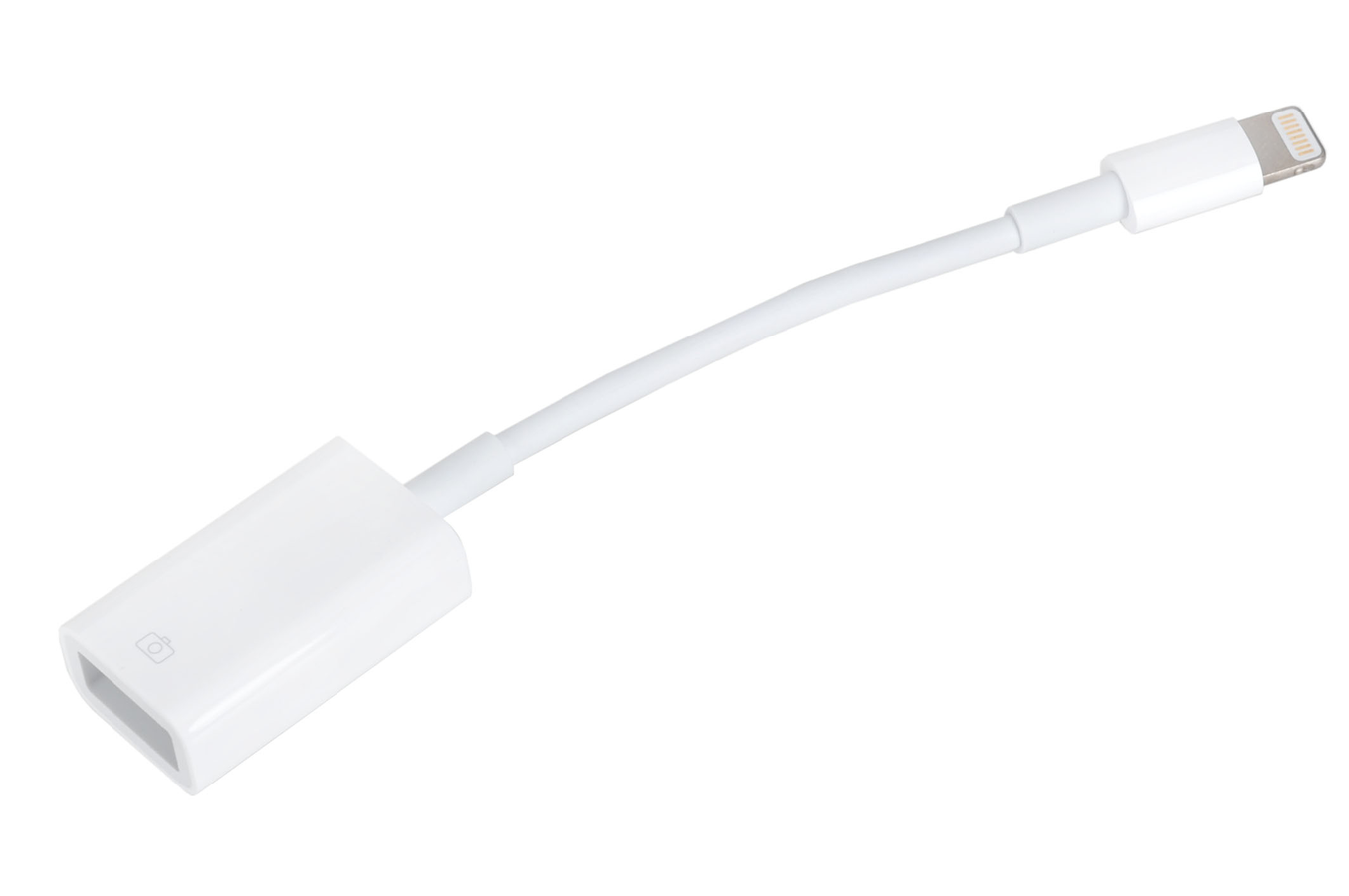 connectique et adaptateur pour tablette apple adaptateur lightning vers usb pour ipad retina. Black Bedroom Furniture Sets. Home Design Ideas