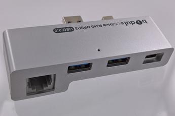 Connectique et adaptateur pour tablette S-USB HUB RJ45 DP SP3 Bidul