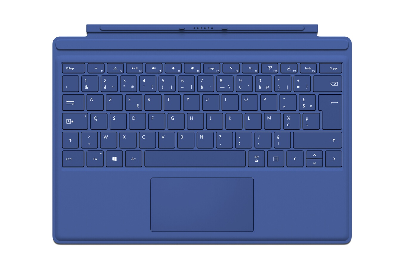 clavier pour tablette microsoft clavier azerty type cover bleu pour surface pro 4 4176944 darty. Black Bedroom Furniture Sets. Home Design Ideas