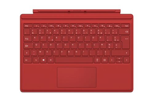 avis clients pour le produit clavier pour tablette microsoft clavier azerty type cover rouge. Black Bedroom Furniture Sets. Home Design Ideas