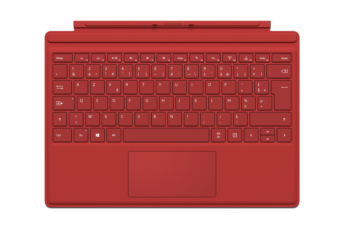 clavier pour tablette microsoft clavier azerty type cover rouge pour surface pro 4 4176790 darty. Black Bedroom Furniture Sets. Home Design Ideas