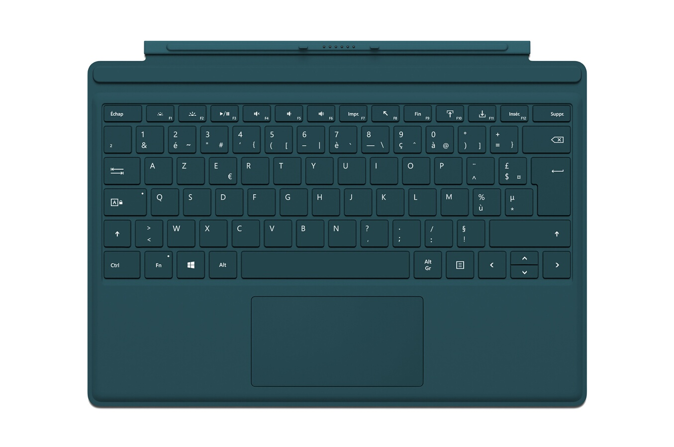 clavier pour tablette microsoft clavier azerty type cover vert pour surface pro 4 4176871 darty. Black Bedroom Furniture Sets. Home Design Ideas