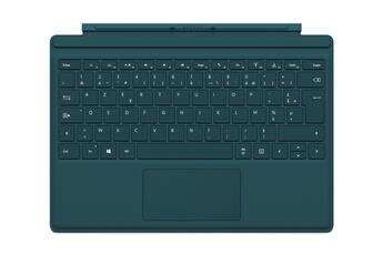 Connectique et adaptateur pour tablette Clavier AZERTY Type Cover vert pour Surface Pro 4 Microsoft