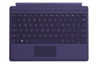Connectique et adaptateur pour tablette Clavier Type Cover violet pour Microsoft Surface 3 Microsoft