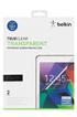 Protection d'écran pour tablette SCREEN TAB S Belkin