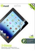 Muvit Protection d'écran pour iPad 2, iPad 3ème génération & iPad Retina