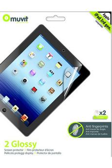 Protection d'écran pour tablette Protection d'écran pour iPad 2, iPad 3ème génération & iPad Retina Muvit
