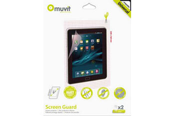 """Protection d'écran pour tablette Protection d'écran universelle 7"""" à 9"""" x2 Muvit"""