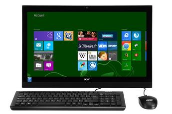 PC de bureau ASPIRE Z1-621-003 Acer