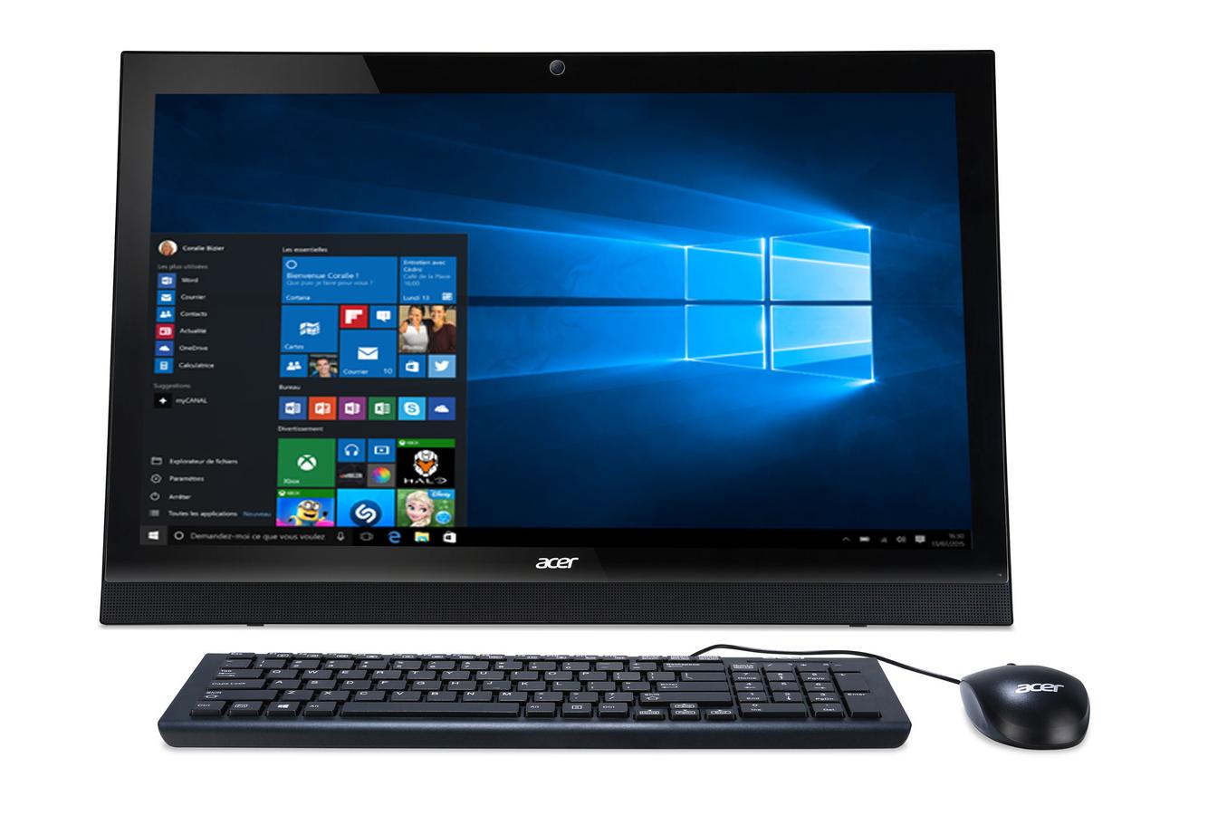 Pc De Bureau Acer Aspire Z1 623 4169794 Darty