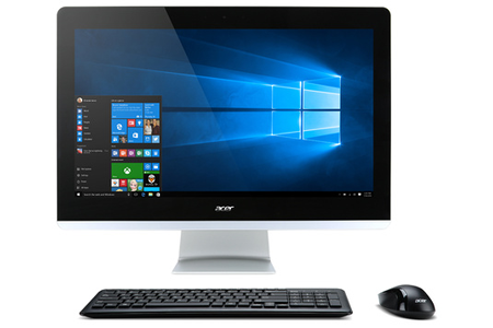 Pc de bureau acer aspire z3 715 001 darty - Afficher ordinateur sur bureau windows 8 ...